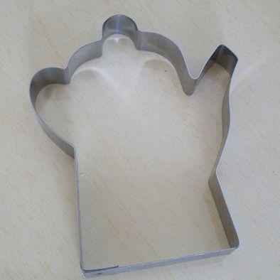 Cortador de biscoito Bule (8,5cm)