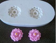 Molde de silicone Flor p/ docinhos - 4051 (1,5cm)