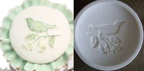 Molde de silicone Topo Cupcake Pássaro -4637 (5,2cm)