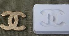 Molde de silicone Chanel G  - 4747 (3cm)