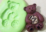 Molde de Silicone Urso pote mel (3,5cm)