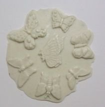 Molde de silicone Borboleta - 4909 (1,6 a 2,7cm)