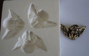 Molde de silicone Anjo fiorucci (Br)-4216 (3cm)
