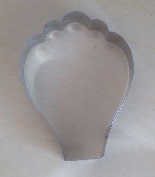 Cortador de biscoito Balão (9x7cm)
