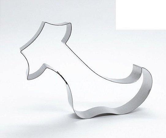 Cortador de biscoito Meia (11,5x7cm)