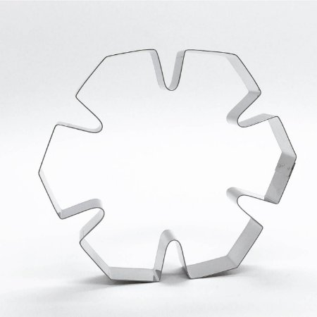 Cortador de biscoito Cristal de neve (10cm)