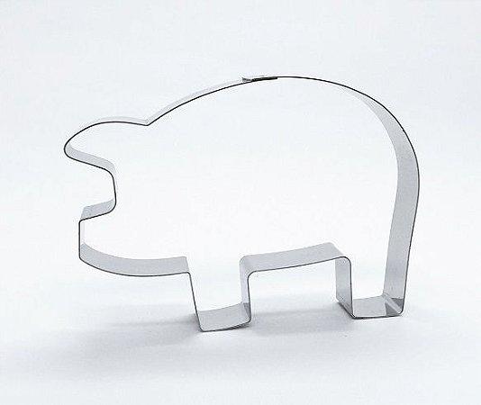 Cortador de biscoito Porco (9cm)
