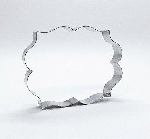Cortador de biscoito Placa (10x7,5cm)