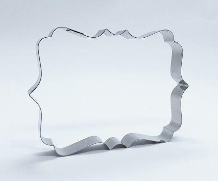 Cortador de biscoito Placa (12x8,5cm)
