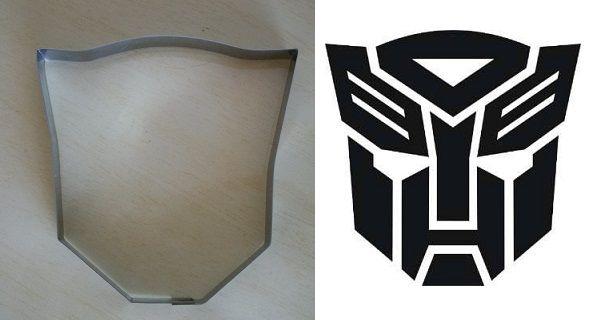 Cortador de biscoito Transformers (9cm)
