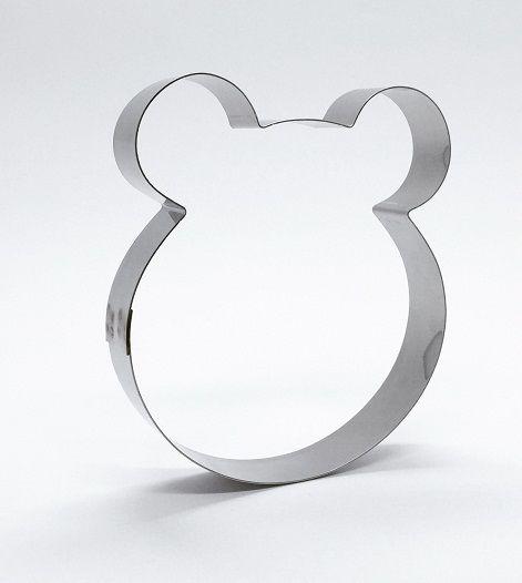 Cortador de biscoito Masha (Urso) (8,5x7,5cm)