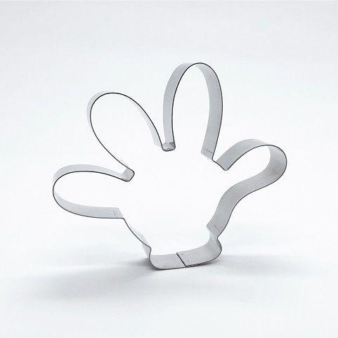 Cortador de biscoito Mão do Mickey