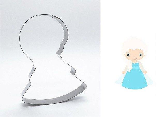 Cortador de biscoito Elsa (Frozen) (10cm)