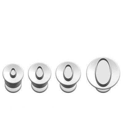 Ejetores Ovais - 98-2044 (0,6 cm; 1 cm; 1,4 cm; e 2,5 cm)