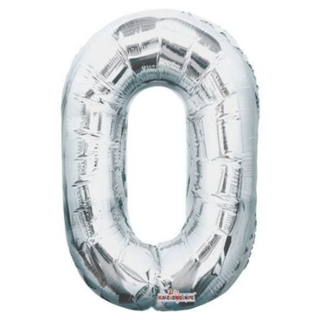 Balão Metalizado Minishape Regina N0 Prata