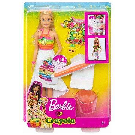 Boneca Barbie Mattel  Crayola Surpresa de Frutas