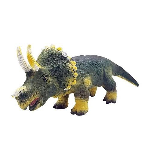 Brinquedo DB Play Dinossauro Triceratops Vinil
