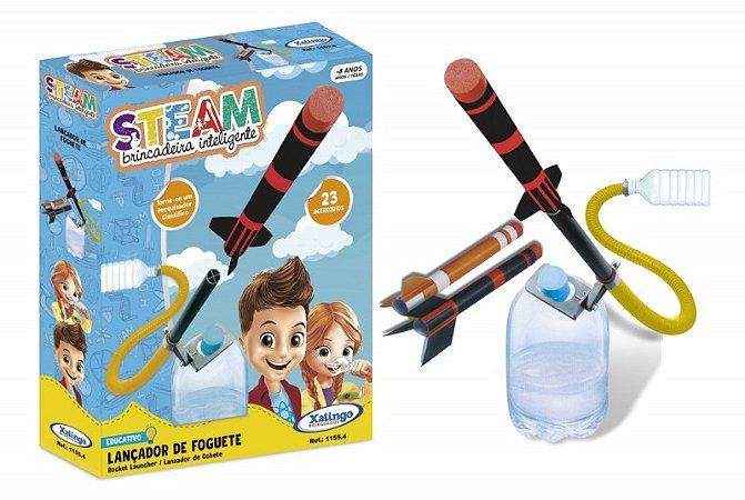 Brinquedo Steam Foguete Sustentável