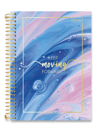 Caderno Universitário 10m 200F Cadersil Borealis