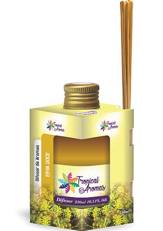 Difusor Tropical Aromas  250ml Erva Doce