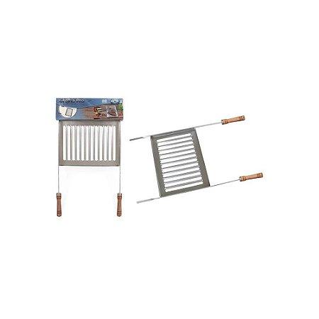 Grelha de Alumínio para Churrasco - MOR - Ref 3125