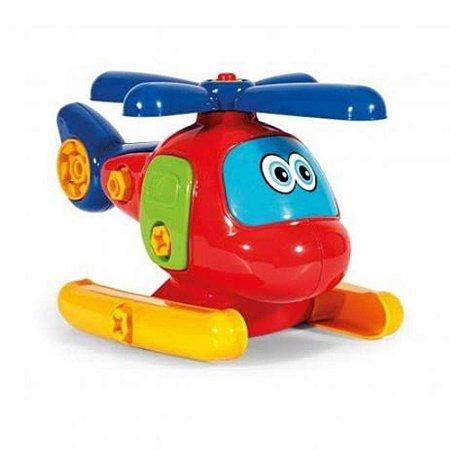 Helicóptero Didático Poliplac Desmontável