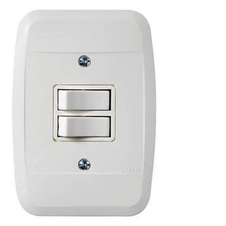 Interruptor Simples 2tc 10A 250V Pezzi 42100