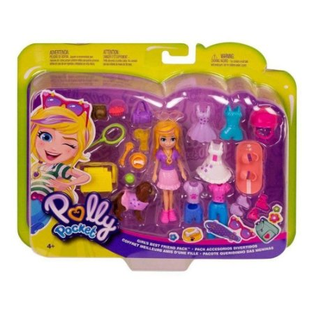 Polly Pocket Mattel Com Acessórios Gbf85