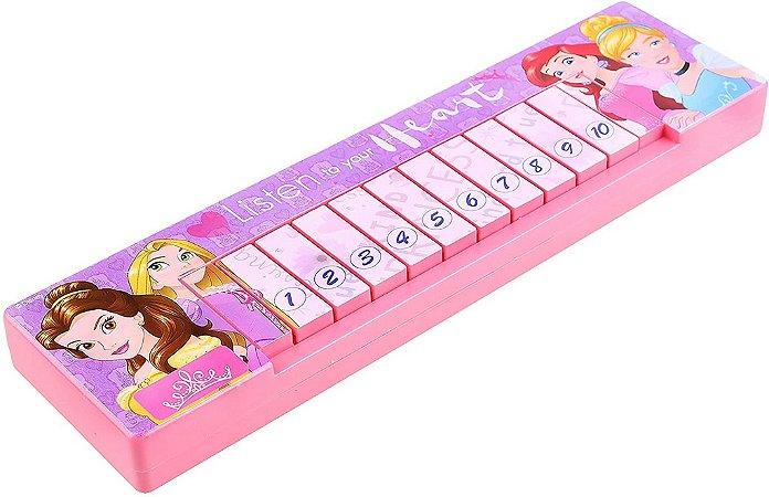 Teclado Musical Infantil Etitoys das Princesas
