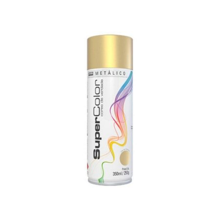 Tinta Spray Tekbond 350ml Metalico Ouro