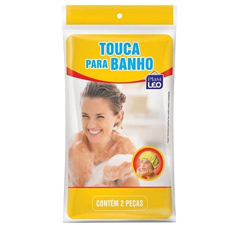 Touca para Banho Plast Leo 2Pçs