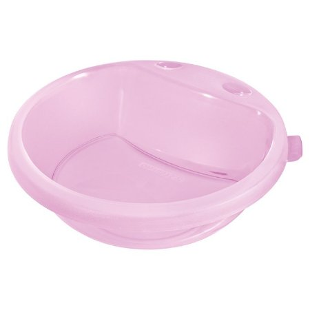 Prato Fundo Infantil Sanremo Plástico 450ml Rosa