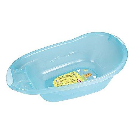 Banheira Plástica Infantil Sanremo 36L Azul