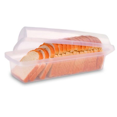 Porta Pão Transparente Pote de Plástico - Sanremo
