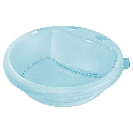 Prato Fundo Infantil de Plástico 450ml Cor Azul - Sanremo