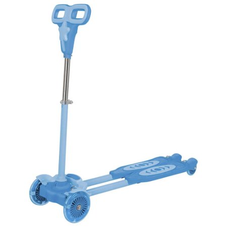 Patinete Infantil Mor 4 Rodas Azul