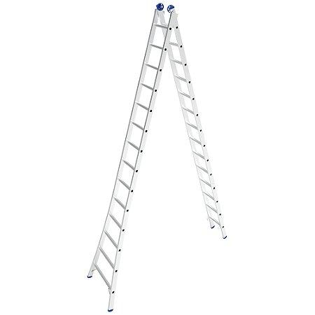 Escada Extensiva Mor de Alumínio 14 à 28 Degraus