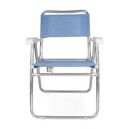 Cadeira Alta Master Mor Fashion de Alumínio