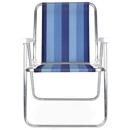 Cadeira Alta Fixa Mor de Alumínio