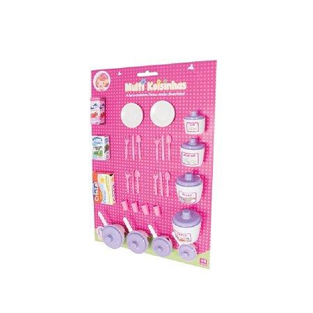 Kit de Mantimentos Lua de Cristal Princesas