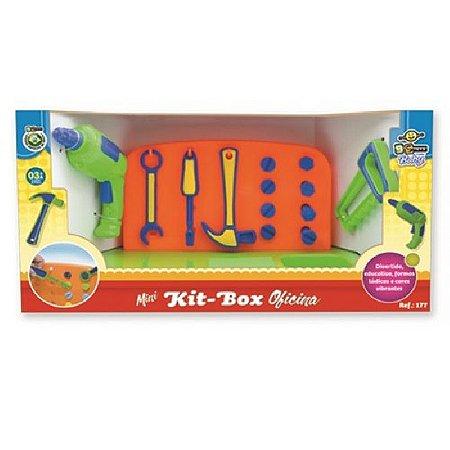 Brinquedo BS Toys Mini Kit Box Oficina