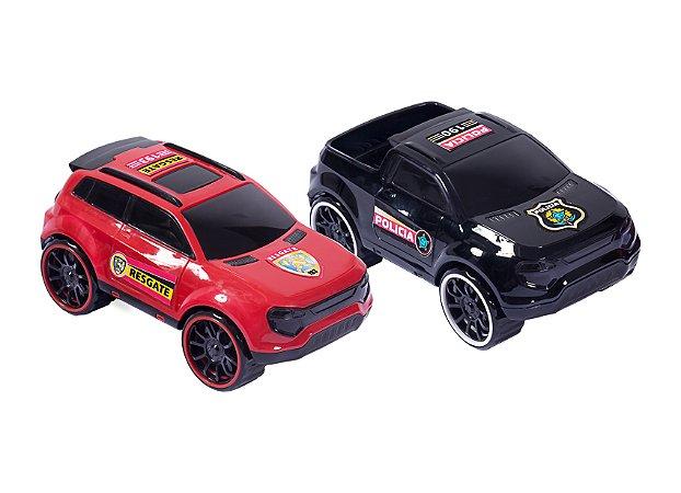 Brinquedo BS Toys Carro Polícia/Resgate Monaco
