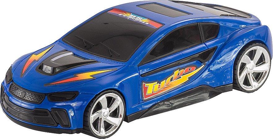 Brinquedo BS Toys Carro Bs Turbo Com Fricção