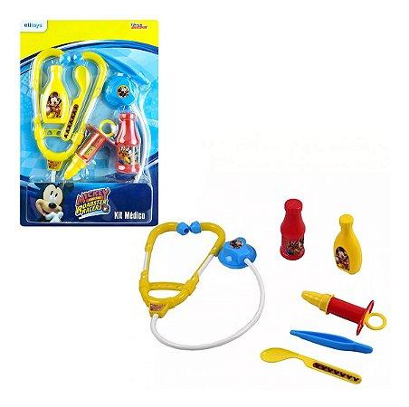 Brinquedos Etitoys Kit Médico Mickey