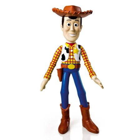Boneco Lider Brinquedos Woody Toy Story em Vinil