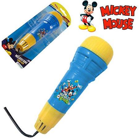 Microfone Com Eco Etitoys do Mickey