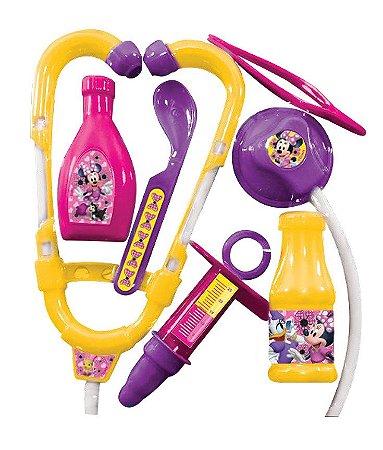 Brinquedos Etitoys Kit Médico da Minnie