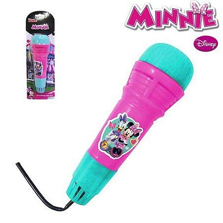 Microfone Infantil Etitoys da Minnie C/Eco