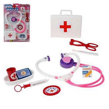Kit Médico Pica Pau Little Doctors Nurse Set