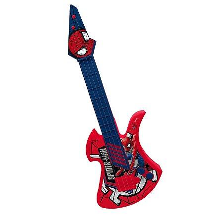 Guitarra Infantil Etitoys Do Homem Aranha C/Corda